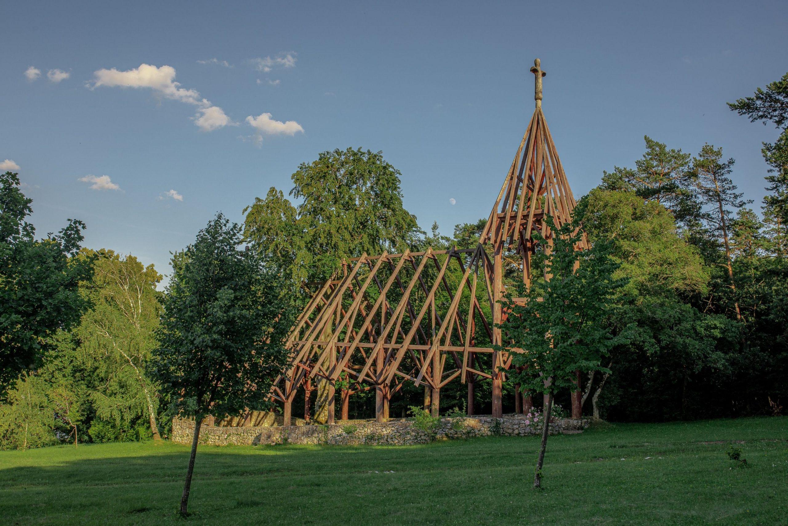 rastlinný kostol Debrad